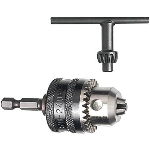 Connex, Mandrino dentato per trapano 0-6 mm, 1/4
