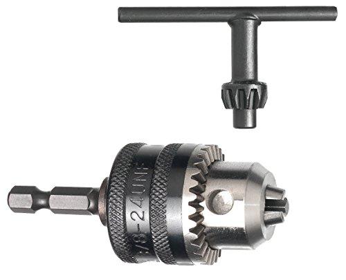 Bohrmaschine 3 Für 4 Bohrfutter (Connex Zahnkranz-Bohrfutter 0-6 mm, 1/4 Zoll Aufnahme, COM450120)