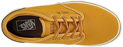 VansY ATWOOD BUCK - Sneaker Unisex - bambino Giallo ((Buck) Oak buff/Potting soil)