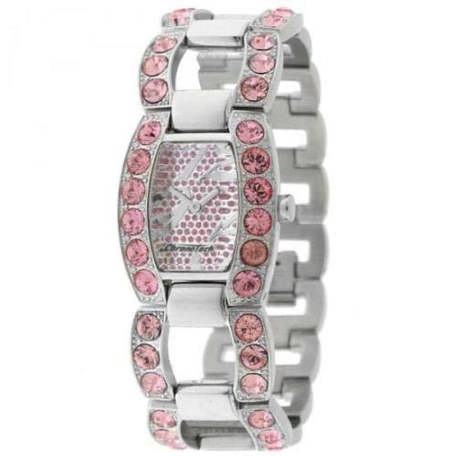 Reloj Mujer CHRONOTECH CT.7075LS/07M Brazalete Acero Rosa Swarovski Lady