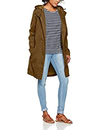O Neill AW Relaxed Parka Chaquetas, Mujer, AW Relaxed Parka, Verde Oscuro