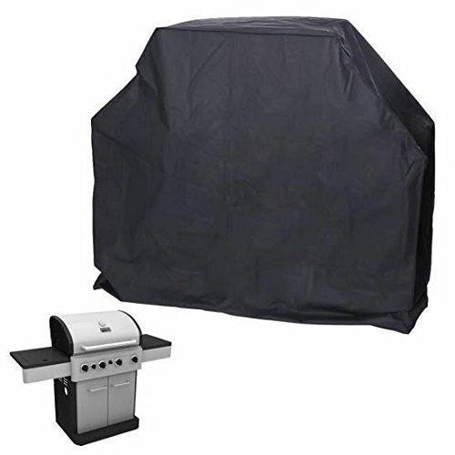 KingstonS impermeable al aire libre barbacoa para parrilla de Gas barbacoa eléctrica protección (170cm), color negro