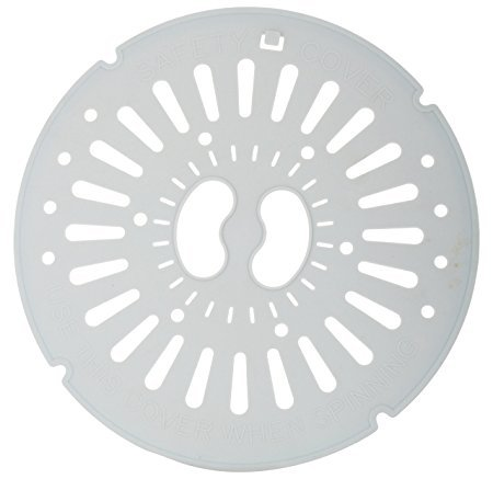 LG Plastic Spinner Cap Safety Cover for LG Semi Automatic Washing Machine (Off White)