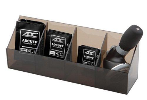 ADC 705PMK-BK Multikuf 705 - Kit de multipuños pediátricos con 804 palmas aneroide esfigmomanómetro para bebé, niños y adultos pequeños (9-27 cm), plexiglás, color negro