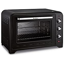 Moulinex Four à Convection Optimo 60 L Noir 7 Modes de Cuisson YY2917FB