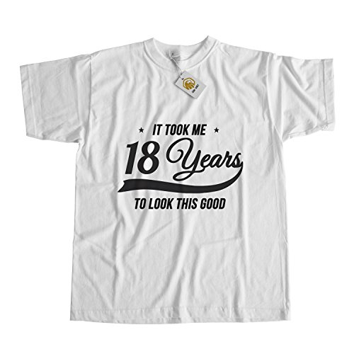 18th Tee (Birthday Shirt It Took Me 18 Years To Look This Good Birthday Gift Tshirt Unisex Top Tee)