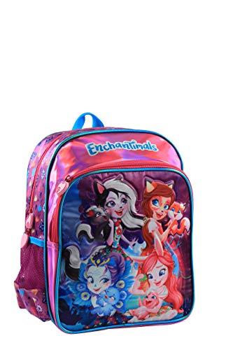 Jacob & Co. Backpack Enchantimals - Mochila Infantil 33 cm, Color Morado