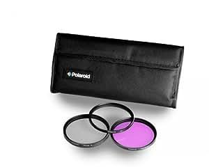 Polaroid Optics Ensemble de 3 filtres 52 mm (UV, CPL, FLD)