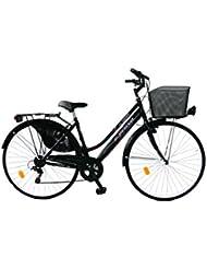 GIANNI BUGNO Bicicleta Steel Trekking Negro