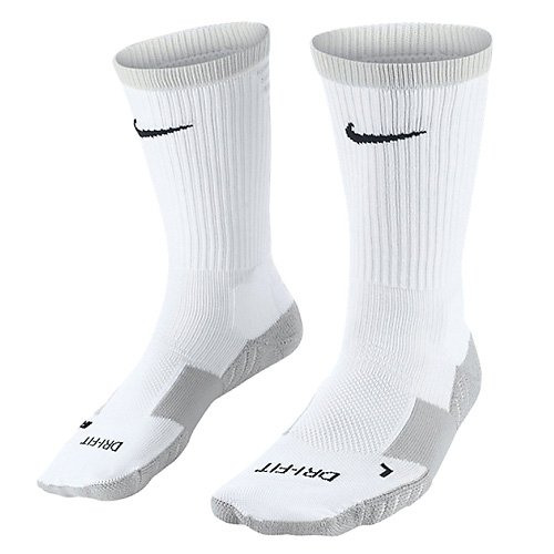 Nike Herren Matchfit Cushion Crew-Team Socken -Weiß (White/Jetstream/Black) , XL (Nike Crew Socken Weiß)
