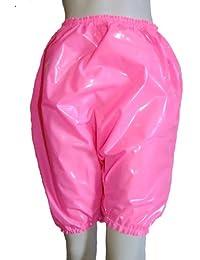 Pantalons / culotte / culotte / culotte bouffante. Lourdes rose en pvc (vinyle, plastique), rose brillant, profond. taille L/XL & XXL/XXXL