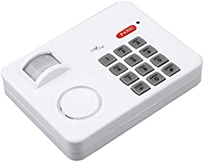 CPEX Wireless Motion Sensor Alarm with Security Keypad for Home Door Garage Shed