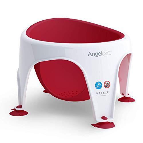 Angelcare Badering - Badesitz rot von 6-12 Monaten