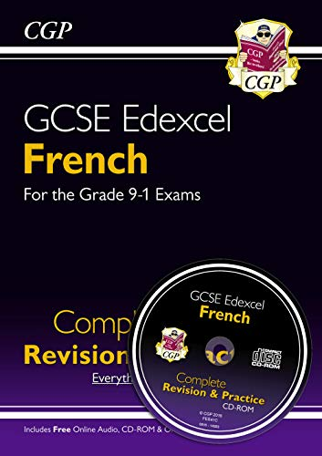 GCSE French Edexcel Complete Revision & Practice (with CD & Online Edition) - Grade 9-1 Course: GCSE French Edexcel complete revision & practice with audio-CD