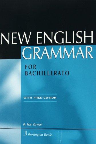 New English Grammar For Bachillerato 2 - 9789963471843