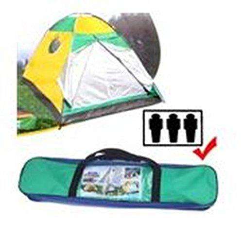 Tenda canadese igloo da 4 posti quattro persone per campeggio mare viaggio camping spiaggia 205x205x140 cm