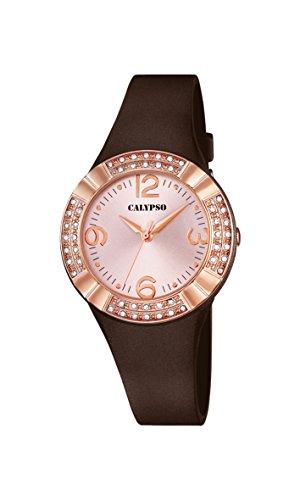 Calypso k5659/3 - Orologio da polso colore marrone