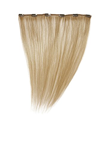 Love Hair Extensions - LHE/A1/QFC12/16/16 - 100 % Cheveux Naturels - Barrette Unique Extensions à Clipper - Couleur 16 - Blond Sahara - 41 cm