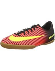 Nike Jr Mercurialx Vapor Xi Ic, Chaussures de Foot Mixte Bébé, Orange/Schwarz/Pink