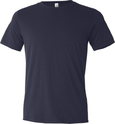 Leinwand, Polyester/Baumwolle T-Shirt–3650 Blau - navy