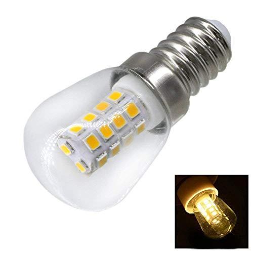 FuweiEncore Light 2W E14 Kühlschrank LED Lampe AC220V Helle Innenleuchte für Kühlschrank Gefrierschrank Kristall Kronleuchter Beleuchtung (Farbe : KüWeiß) (Farbe : Cool White)