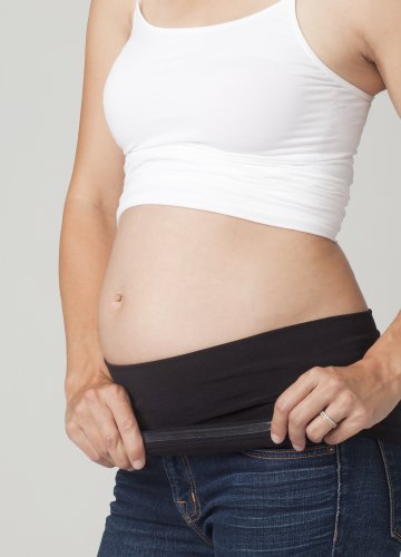 Ingrid & Isabel - Ceinture de grossesse spécial grossesse - Femme blanc blanc 32 Noir