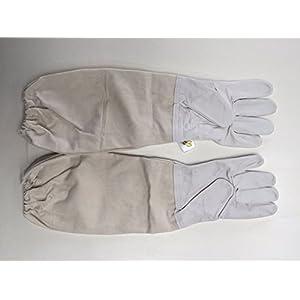 41v57HyAmgL. SS300 Guanti antiapi in pelle di pecora, maniche restringenti, anti-spine, spessi e durevoli, flessibili e traspiranti (FFST01…