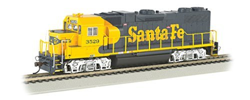 Bachmann Industries EMD GP38 2 DCC Santa Fe #3529 Sound Value Equipped Locomotive (HO Scale)