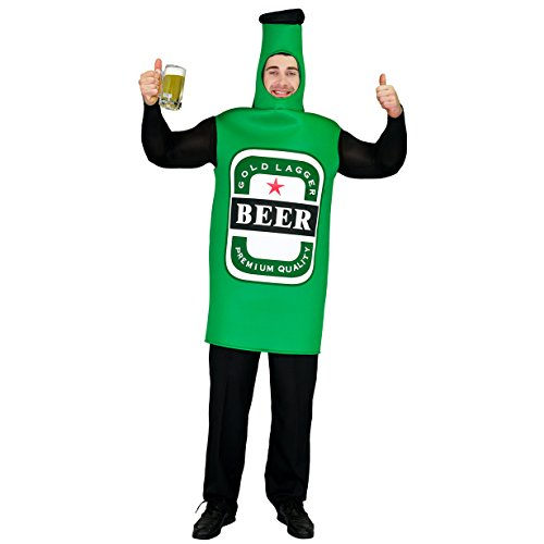 Sea Hare Unisex Bierflasche Essen und Trinken Getränke für Oktoberfest -Kostüm-Abendkleid-Ausstattung Erwachsene