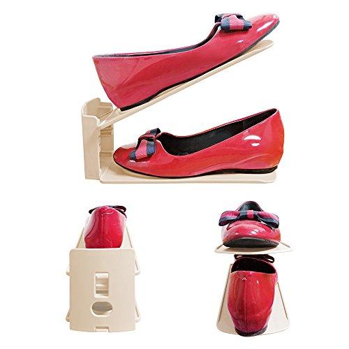 support à chaussures: étagère organisateur de chaussure - 41v58iO7GmL - Support à chaussures: étagère organisateur de chaussure