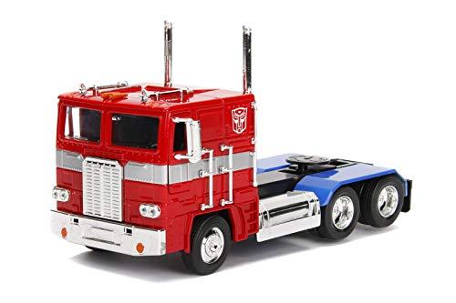 Modell 23cm DieCast Optimus Prime Maßstab 1/24 Original JadaToys ()