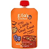 Cuisine Zingy Agneau + Cous Cous De La Ella Avec Mangues + Raisins De 7 Mois 130G - Lot De 2