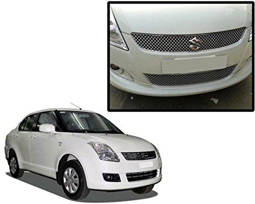 SDR - Premium Quality Chrome Plated Front Grill For Maruti Suzuki Old Swift dezire  available at amazon for Rs.1699