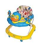 Dash Louie Duck Kid's Musical Activity Walker - Height Adjustable - 9 Months + Baby - Wide Base (Blue)