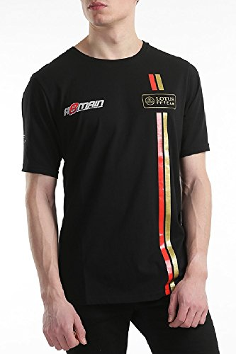 Lotus F1 Team Romain Grosjean Herren 2014/5Lifestyle T Shirt, Herren, schwarz