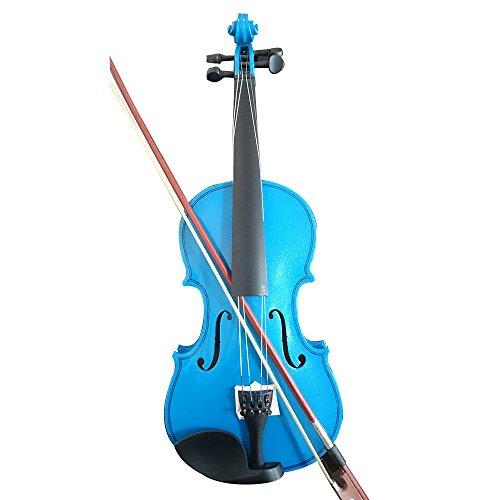 Estudiante violín acústico completo de 1/4Arce abeto segunda mano  Se entrega en toda España