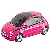 Mondo Motors - Fiat 500 Pink Edition -  modello in scala 1:24 - fino a 20 km/h di velocità - auto giocattolo per bambini - 63554