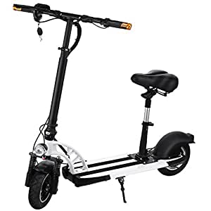 scallop electric scooter adult with retractable seat foldable city E-Bike Lithium Ion Battery electric scooters