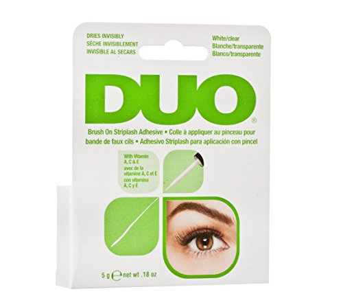 Ardell Duo Brush on Adhesive with Vitamins, das Original, 1er Pack (1 x 5g / 0.18 oz) (Kleber Für Wimpern)