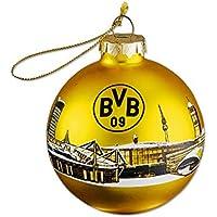 Borussia Dortmund BVB Christbaumkugel 2019 mit Skyline