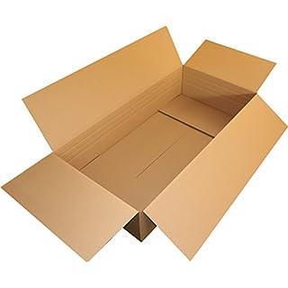 1 Stuck Faltkarton 1200x600x250 140 C Wellig Kraftliner Versandschachtel 120x60x25 DHL Kiste Post Versandbox