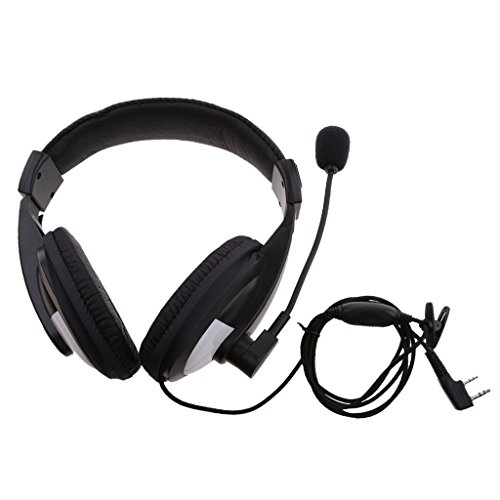 Shiwaki Noise Cancelling Racing Aviation Headset Für 2 Polige Kenwood Baofeng Wouxun Noise Cancelling Aviation Headsets