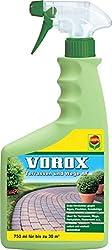 VOROX Terrassen und Wege AF, Grünvernichter, Anwendungsfertige Sprühflasche, 750 ml, 30 m²