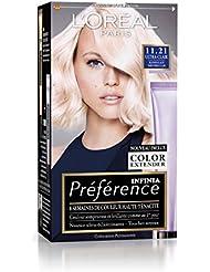 Préférence L'Oréal Paris Coloration Permanente 11.21 Blond Glacé Très Très Clair