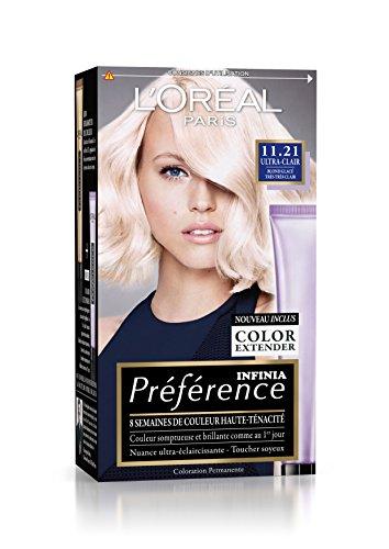 L'Oréal Paris Préférence Coloration Permanente 11.21 Blond Glacé Très Très Clair