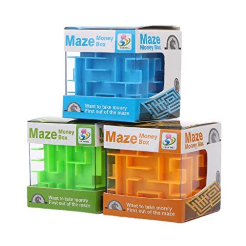 Exing nouveauté Hucha 3D Money Maze Hucha Cube Puzzle