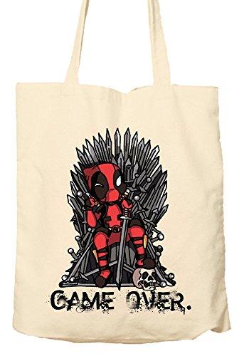 Preisvergleich Produktbild Deadpool Game of Thrones Parody–Umweltfreundlich Tasche, Natural Einkaufstasche