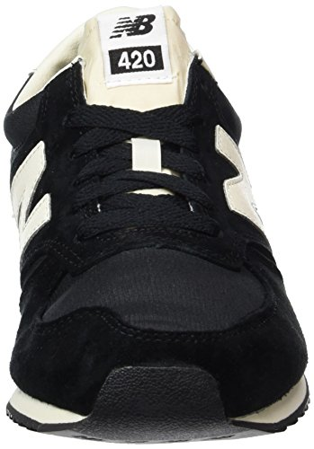 New Balance Herren 420 70s Running Sneaker Mehrfarbig (Black/White/Grey)