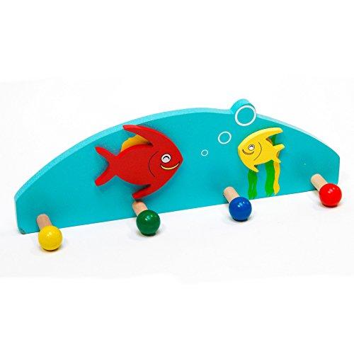 DEMA Kinder-Kleiderhaken Fisch (Kleiderhaken Fisch)