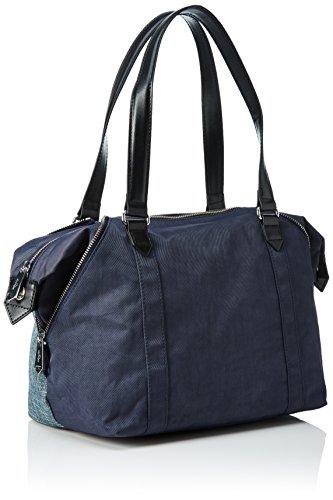 Kipling Art S, Sacs Portés Main Femme Bleu (REF35L Woven Haven)